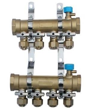 PERT地暖管-A5阀锻压一体分水器