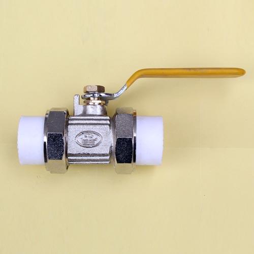 PP-R专利活接球阀公司