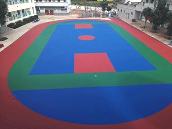 塑胶球场安装