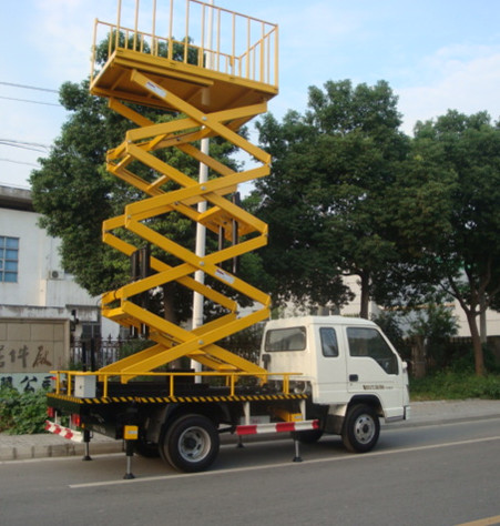 车载式高空作业平台