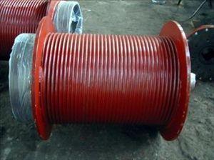 钢丝绳卷筒