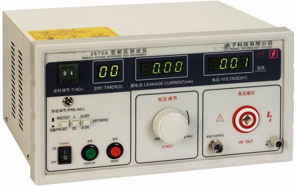 单交流耐压测试仪