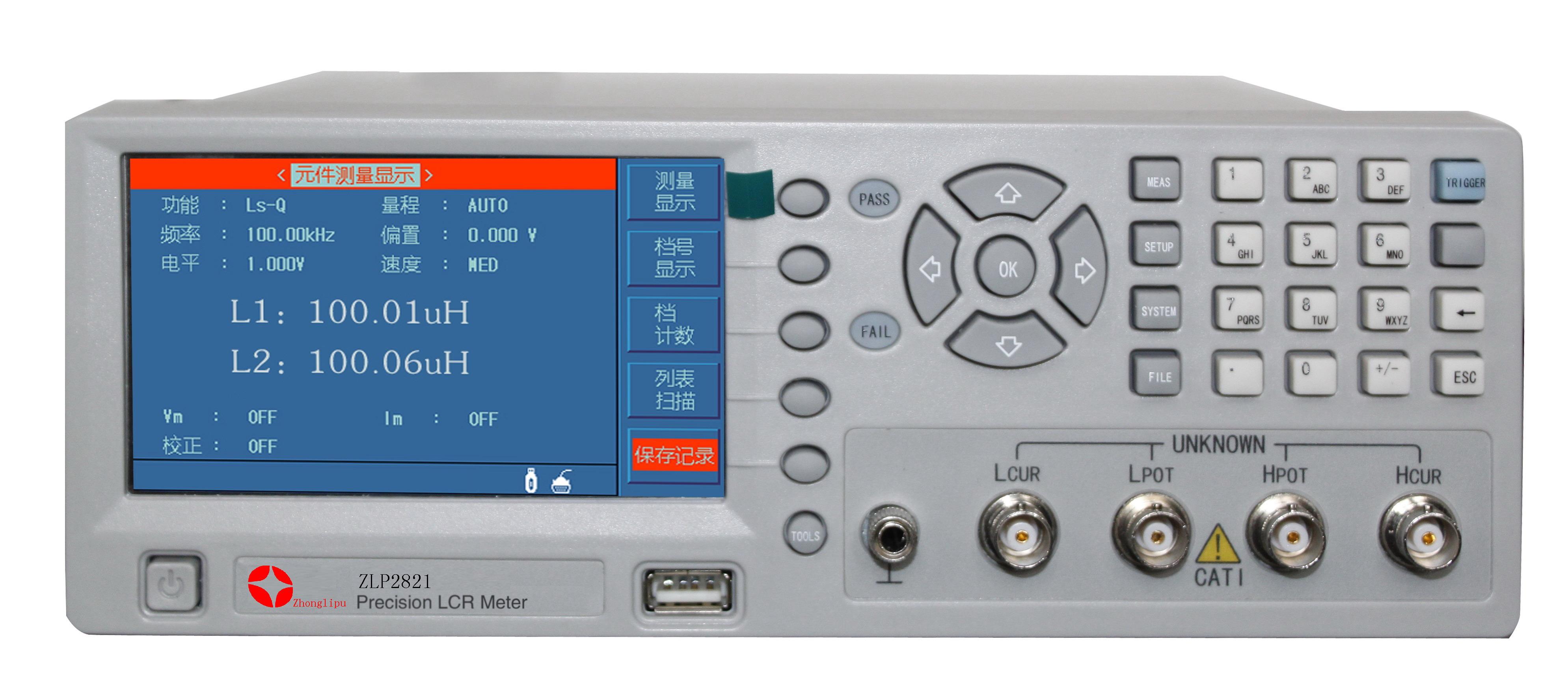 ZLP2821滤波器平衡测试仪