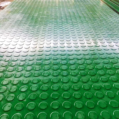 绿色圆点橡胶板