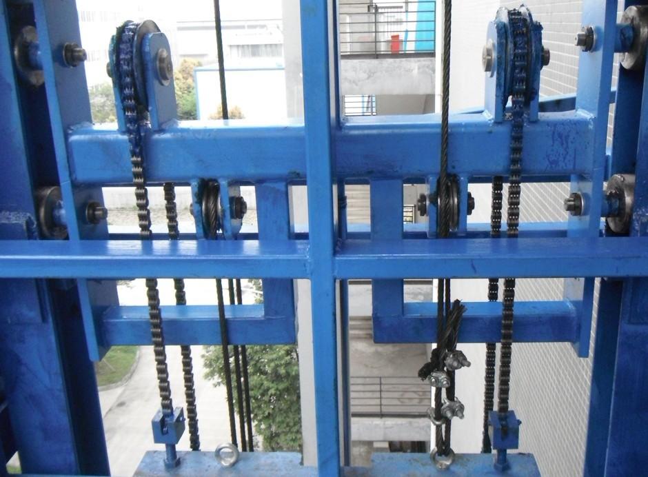鏈條式升降貨梯
