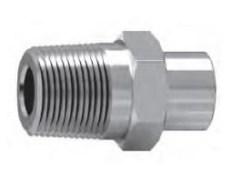 承插焊外螺纹直通接头
