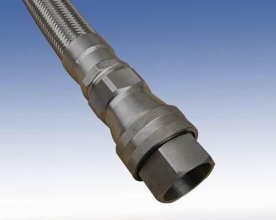 插入式双向自封连接金属软管