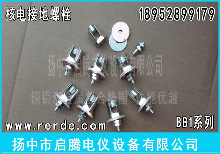 BB1核电用接地螺丝|核电用铜接地夹|核电接地螺栓