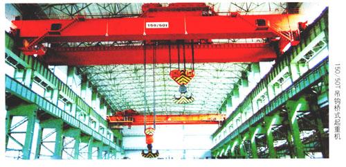 黑龙江QD150t桥式起重机