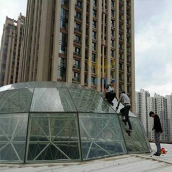 滨江俊园玻璃顶