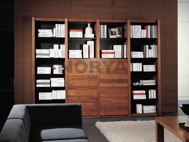 挪亚家书柜
