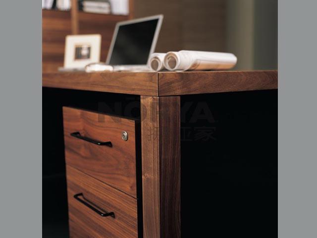 实木简约电脑书桌