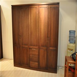 挪亚家实木衣柜
