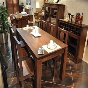 挪亚家实木餐桌椅