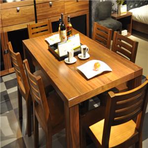 实木餐桌椅套装