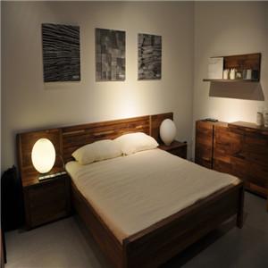 挪亚家卧室实木家具