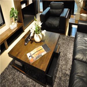 客厅真皮家具