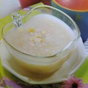 牛奶杏仁粥