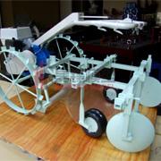 厂区机械模型报�h