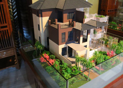 曲�别墅模型