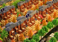 �山别墅模型