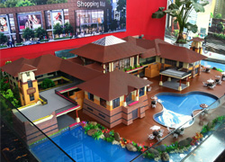 临沧别墅模型