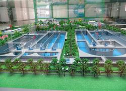 红河厂区模型