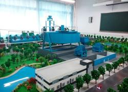 玉溪厂区模型