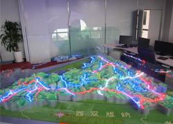 昆明地�Ş模型