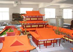 云南古建模型