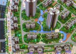 石林小区模型