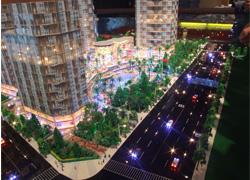 昆明小区多层住宅模型