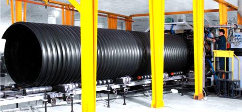 郑州钢带增强波纹管批发