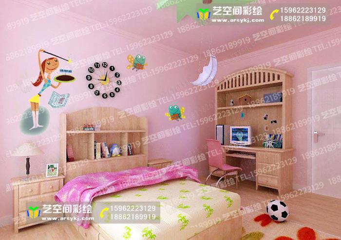 苏州儿童房彩绘