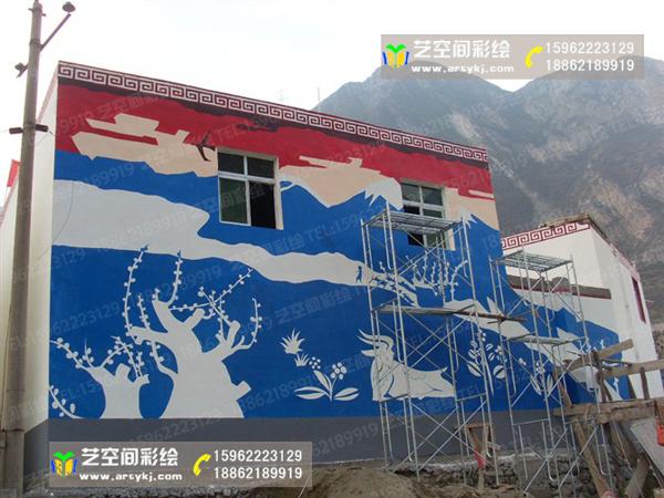 苏州新农村文化墙