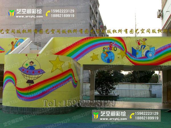 苏州幼儿园彩绘