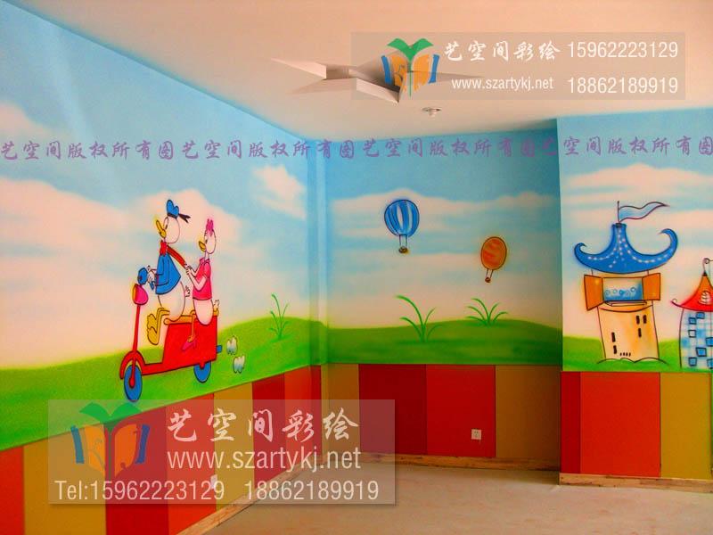 儿童医院彩绘