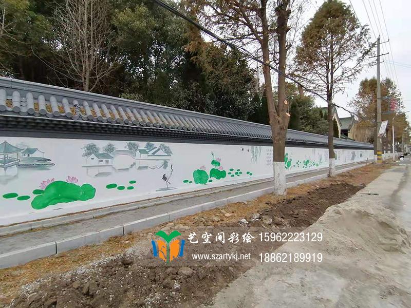 苏州墙体喷绘