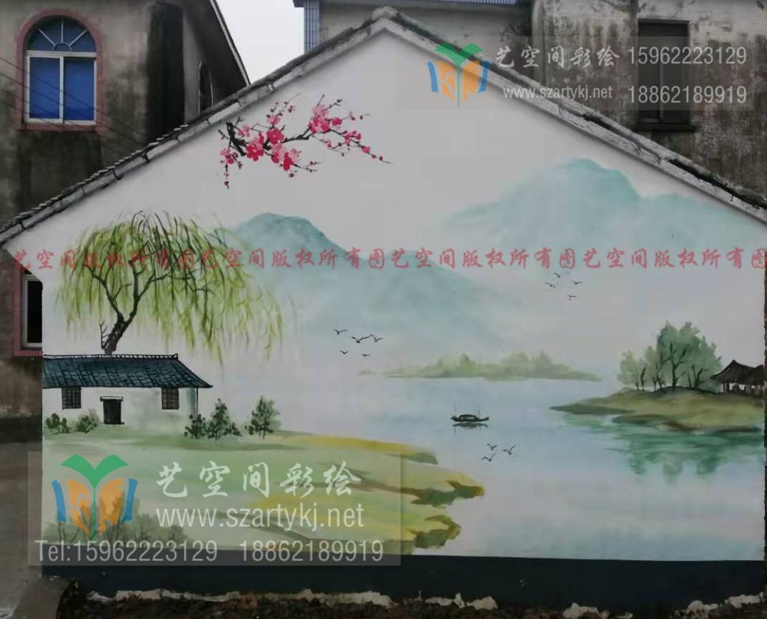 常熟外墙彩绘