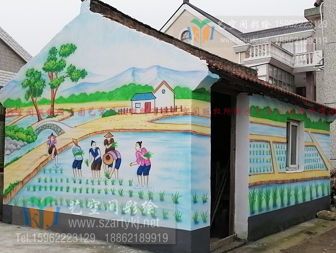 南通乡村绘画